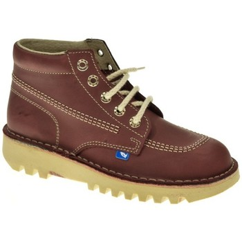 Zapatos Mujer Botas de caña baja Taum 100 Rojo