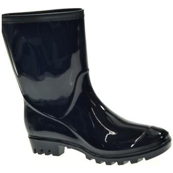 Zapatos Mujer Botas de agua Kelara 91101 Azul