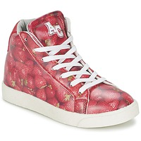 Zapatillas altas American College RED