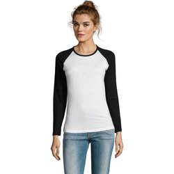 textil Mujer Camisetas manga larga Sols MILKY LSL SPORT Multicolor