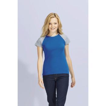 textil Mujer camisetas manga corta Sols MILKY BICOLOR SPORT Multicolor