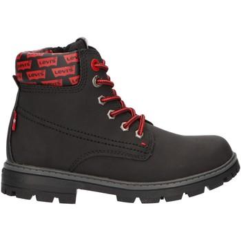 Zapatos Niños Botas de caña baja Levi's VFOR0020S FORREST Negro