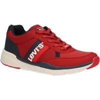 Zapatos Niños Zapatillas bajas Levi's VORE0016S NEW OREGON Rojo
