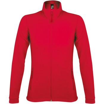 textil Mujer Polaire Sols NOVA WOMEN SPORT Rojo