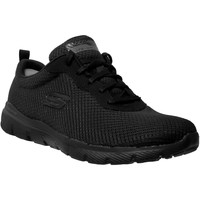 Zapatos Mujer Zapatillas bajas Skechers Flex appeal 3,0 first insight negro