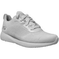 Zapatos Mujer Zapatillas bajas Skechers Bobs squad tough talk Blanco, Blanca