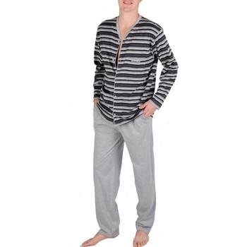 textil Hombre Pijama Pettrus Pijama Algodón  5459 Estampado