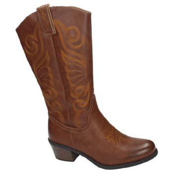Zapatos Mujer Botas urbanas Nio Nio Botas cowboy camel Marrón