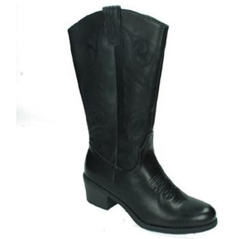 Zapatos Mujer Botas urbanas Nio Nio Botas cowboy Negro