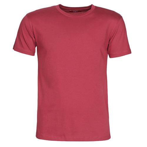textil Hombre Camisetas manga corta BOTD MATILDO Burdeo