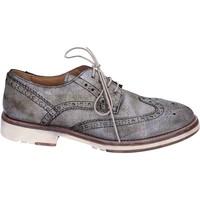 Zapatos Mujer Derbie Moma elegantes cuero gris
