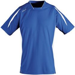 textil Hombre Camisetas manga corta Sols MARACANA 2 SSL SPORT Azul
