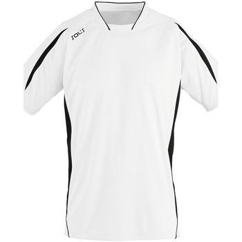 textil Hombre Camisetas manga corta Sols MARACANA 2 SSL SPORT Blanco