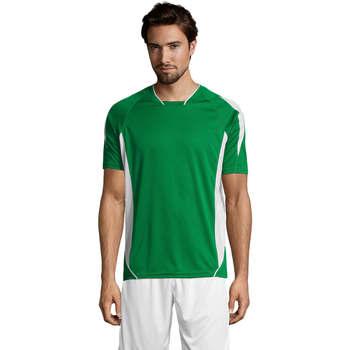 textil Hombre camisetas manga corta Sols MARACANA 2 SSL SPORT Verde