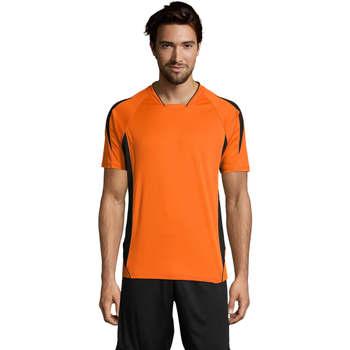 textil Hombre camisetas manga corta Sols MARACANA 2 SSL SPORT Naranja