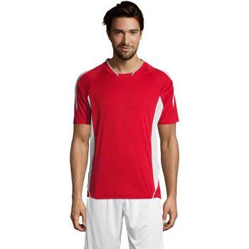 textil Hombre camisetas manga corta Sols MARACANA 2 SSL SPORT Rojo