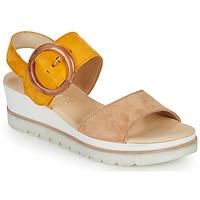 Zapatos Mujer Sandalias Gabor KOKREM Beige / Amarillo