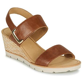 Zapatos Mujer Sandalias Gabor KERILA Cognac