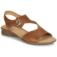 Zapatos Mujer Sandalias Gabor  Cognac