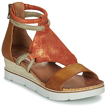 Zapatos Mujer Sandalias Dream in Green LIRABIEN Camel / Ocre