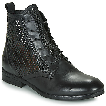 Zapatos Mujer Botas de caña baja Dream in Green MARLO Negro