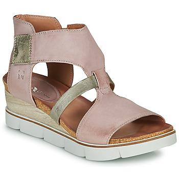 Zapatos Mujer Sandalias Dream in Green LIRATIMO Rosa