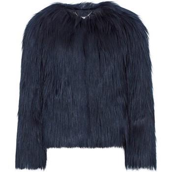 textil Mujer Abrigos Anastasia Chaqueta De Piel Sintética Mongol Luxe Dawn Luxe Azul Marino Blue