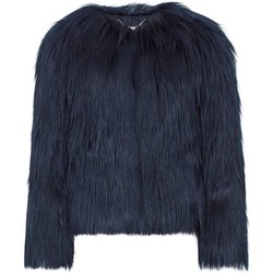 textil Mujer Abrigos Anastasia Chaqueta De Piel Sintética Mongol Luxe Dawn Luxe Negro Black