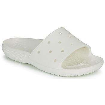 Zapatos Chanclas Crocs CLASSIC CROCS SLIDE Blanco