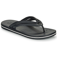 Zapatos Mujer Chanclas Crocs CROCBAND FLIP W Negro