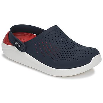 Zapatos Zuecos (Clogs) Crocs LITERIDE CLOG Marino / Rojo