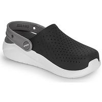 Zapatos Niños Zuecos (Clogs) Crocs LITERIDE CLOG K Negro / Blanco