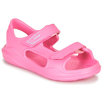 Zapatos Niña Sandalias de deporte Crocs SWIFTWATER EXPEDITION SANDAL K Rosa