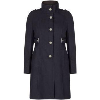 textil Mujer Abrigos Anastasia Abrigo Clásico Con Cuello Alzado De Invierno Black