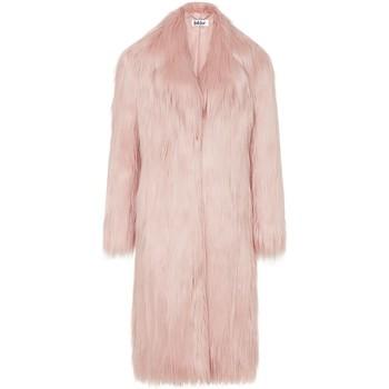 textil Mujer Abrigos Anastasia Rosa Kristie Luxe Faux Abrigo De Piel Sintética Mongol Grey
