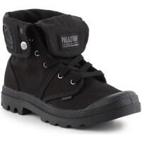 Zapatos Hombre Zapatillas altas Palladium Manufacture Baggy Negros
