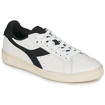 Zapatos Zapatillas bajas Diadora GAME L LOW USED Blanco / Negro