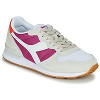 Zapatos Mujer Zapatillas bajas Diadora CAMARO Beige / Rosa
