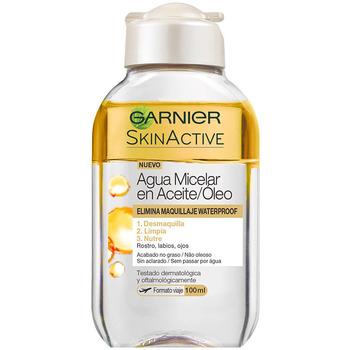 Belleza Mujer Desmaquillantes & tónicos Garnier Skinactive Agua Micelar Aceite Waterproof  100 ml