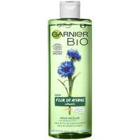 Belleza Mujer Desmaquillantes & tónicos Garnier Bio Ecocert Flor De Aciano Agua Micelar  400 ml