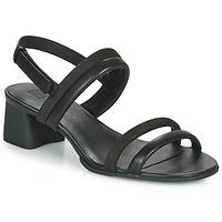 Zapatos Mujer Sandalias Camper KATIE SANDALES Negro