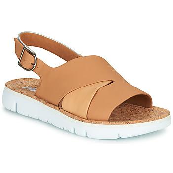 Zapatos Mujer Sandalias Camper TWINS Nude / Blanco