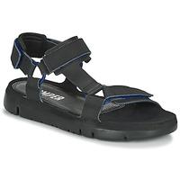 Zapatos Hombre Sandalias Camper ORUGA Negro