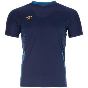 textil Hombre Camisetas manga corta Umbro  Azul