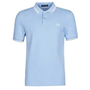textil Hombre Polos manga corta Fred Perry TWIN TIPPED FRED PERRY SHIRT Azul
