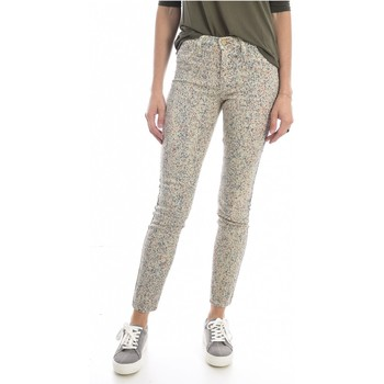 textil Mujer Vaqueros slim Mih Jeans THE BONN WJ1557POL - Mujer beige