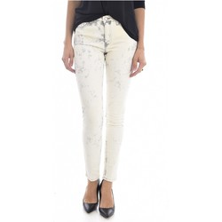 textil Mujer Vaqueros slim Mih Jeans TH BONN WJ1557L.K - Mujer beige