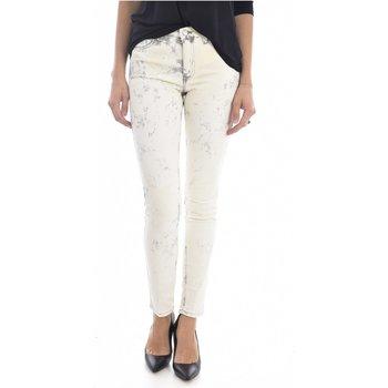 textil Mujer vaqueros slim Mih Jeans TH BONN WJ1557L.K beige