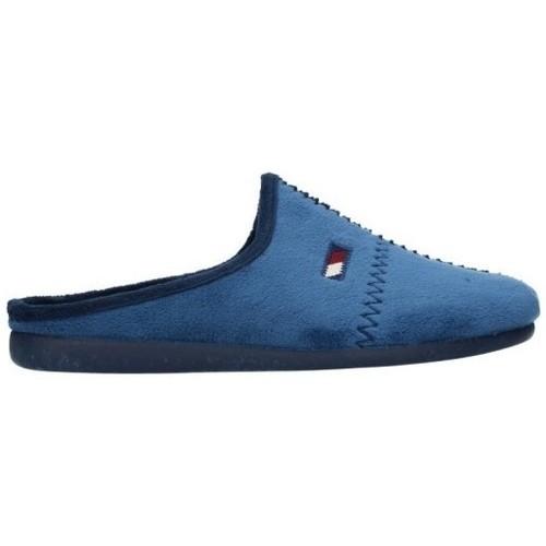 Calzamur 1040 27120006 710 Hombre Azul marino bleu - Zapatos Pantuflas Hombre
