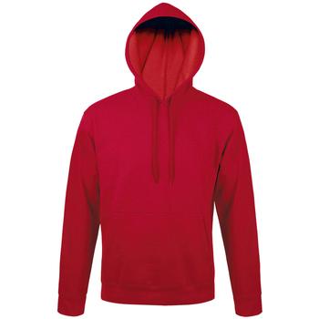 textil sudaderas Sols SNAKE UNISEX SPORT Rojo